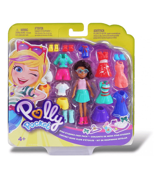 Shani Polly Pocket Kit de Ropas Estelar