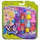 Lila Polly Pocket moda Brillosa