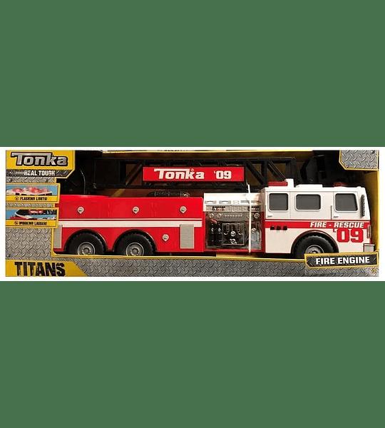 Camión de bomberos con Luz y Sonidos Tonka
