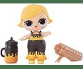 L.O.L. ¡Sorpresa! Muñeca brillante con 8 sorpresas, incluye sorpresas de luz negra.