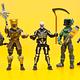 Skull Trooper 25 Puntos de Articulacion Fortnite