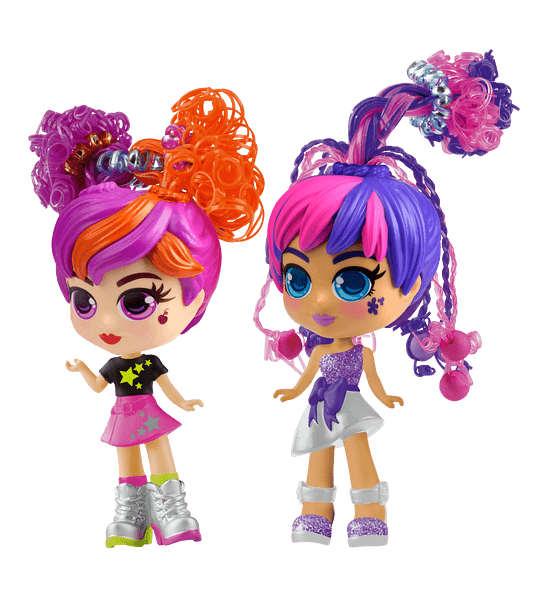 Julli y Jolli + Skye Curli Girls