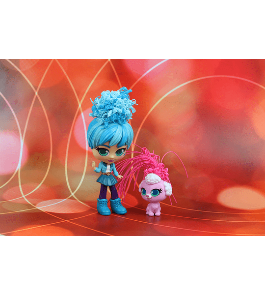 Adeli y Fiji Curli Girls