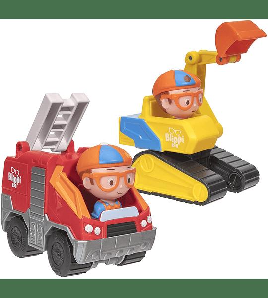 Blippi Camión de bomberos