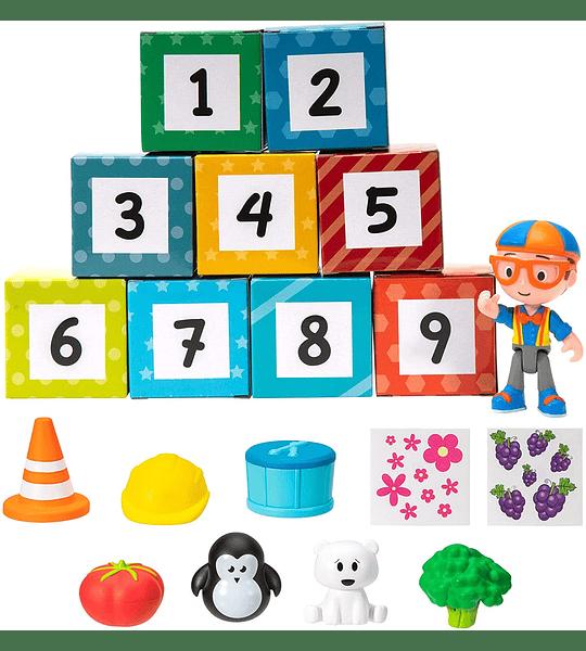 Blippi Caja sorpresa Colores de aprendizaje