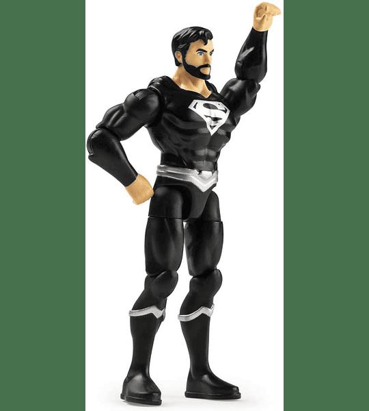 Superman Traje Negro Figura de acción DC Héroes Unite 2020