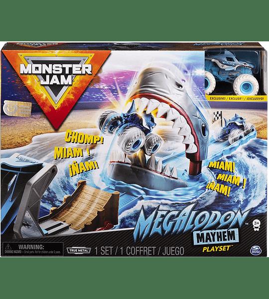 Megalodon Mayhem Monster Jam, juego oficial