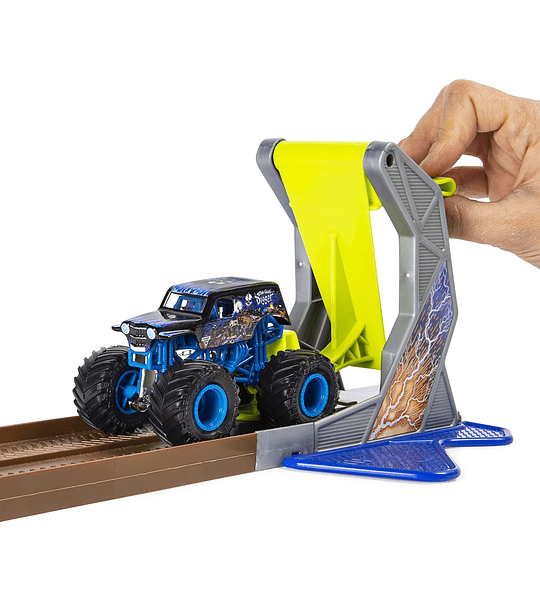 Exclusiva Camión monstruo de excavadora Monster Jam