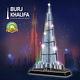 Dubai Burj Khalifa Puzzle Led 3D CubicFun