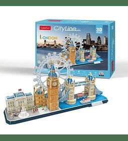 Londres CityLine Puzzle 3D CubicFun