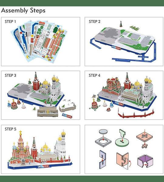 Moscow Puzzle 3D CubicFun