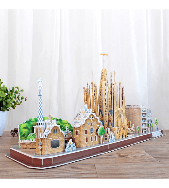 Barcelona Puzzle 3D CubicFun