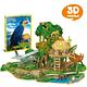 Amazon Rain Forest Puzzle 3D  CubicFun Kids