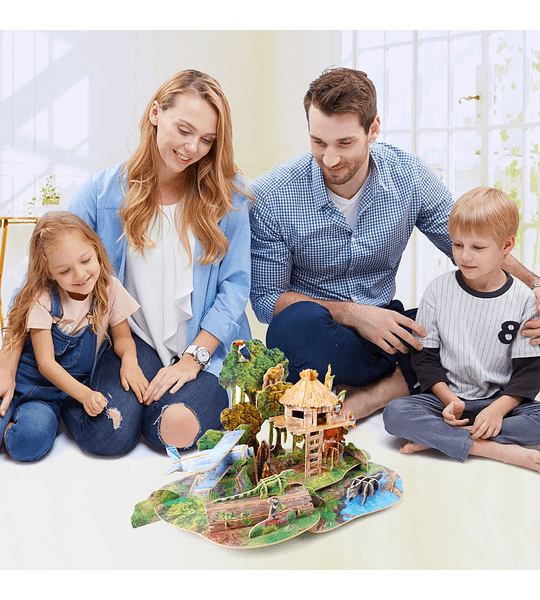 Amazon Rain Forest Puzzle 3D  CubicFun Kids