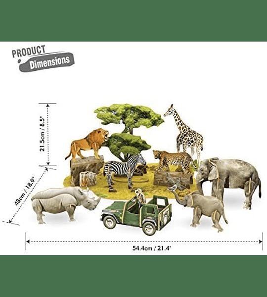 Afríca Puzzle 3D CubicFun