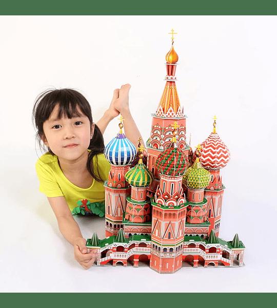 Cathedral San Basilio Puzzle 3D CubicFun
