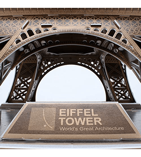 Torre Eiffel Puzzle en 3D CubicFun