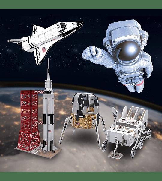 Space Mission Puzzle 3D CubicFun Kids