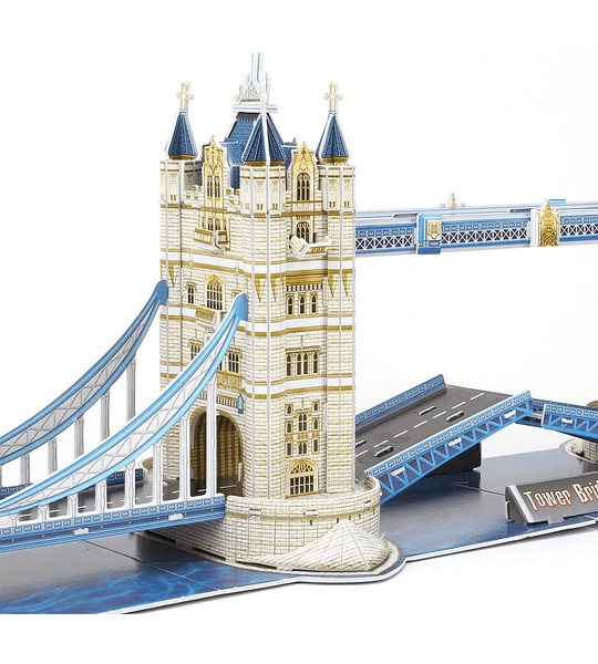 London Twin Bridge Puzzle 3D National Geographic CubicFun