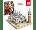 Plaza de San Marcos Puzzle 3D National Geographic CubicFun