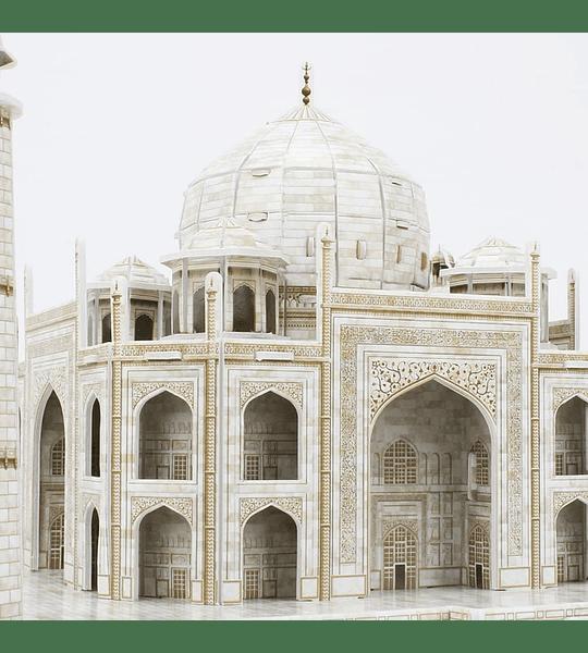 Taj Mahal India Puzzle 3D National Geographic CubicFun