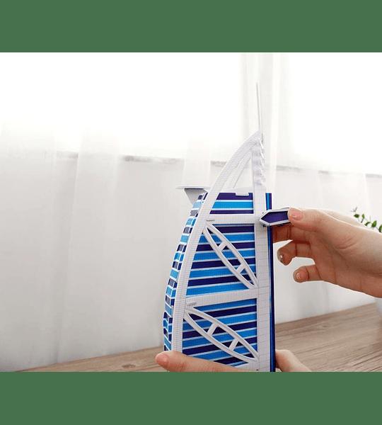 Dubai Burj al Arab Puzzle 3D CubicFun