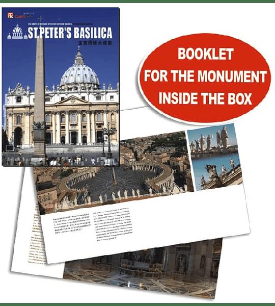 St Peters Basílica Puzzle 3D CubicFun