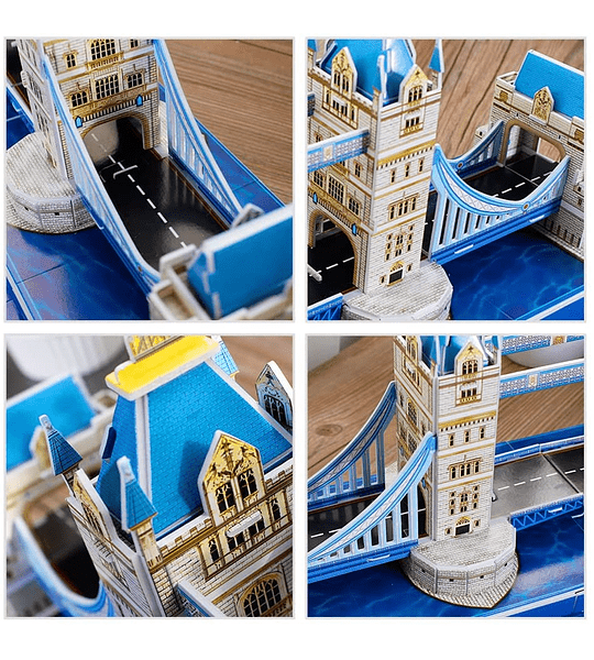 Tower Bridge Londres Puzzle 3D CubicFun