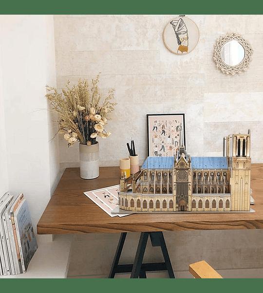 Notre Dame de Paris Puzzle 3D CubicFun