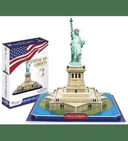 Estatua de la Libertad EE.UU Puzzle 3D CubicFun