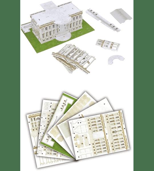 Casa Blanca Puzzle 3D CubicFun