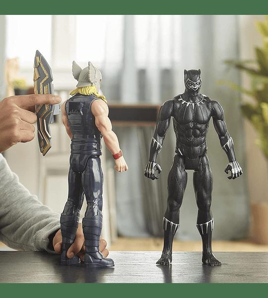 Pantera negra de lujo de Marvel Titan Hero Series Blast Gear