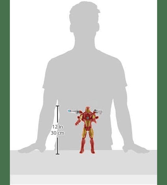 Iron Man de Marvel Titan Hero Series Blast Gear