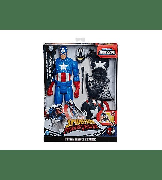 Capitan America Spider-Man Maximum Venom
