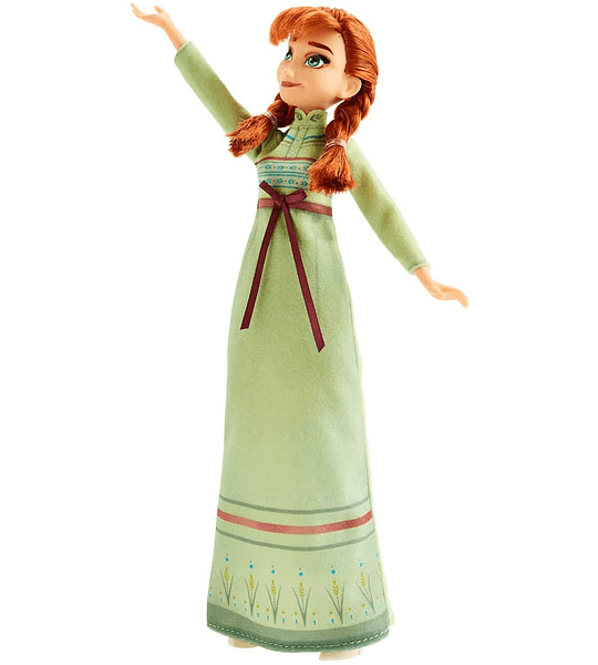 Anna Frozen 2 Fashion + Extra vestido