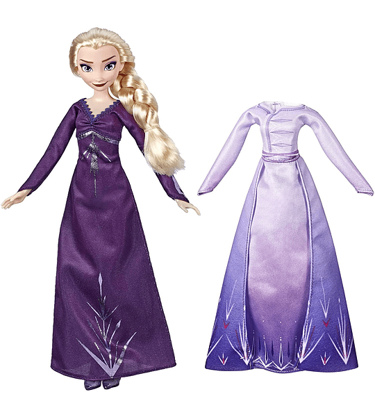 Elsa Frozen 2 Fashion + Extra Vestido