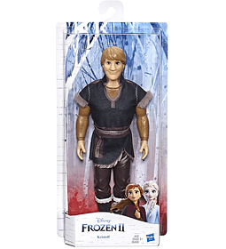 Kristoff muñeca de moda con traje marrón inspirado en la película Frozen 2