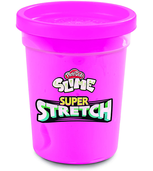 Slime Super Stretch - Pack de 2 color Rosado y Amarillo Play-Doh