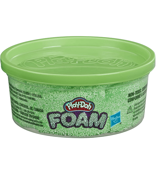 Pote de espuma para modelar Play-Doh Color Verde
