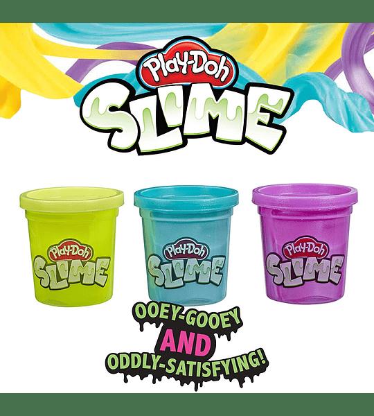 Brand Slime 3 Pack de Slime amarillo, morado metálico, y verde azulado metálico  Play-Doh