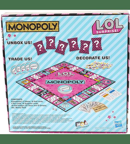 Monopoly Game: L.O.L. ¡Sorpresa!