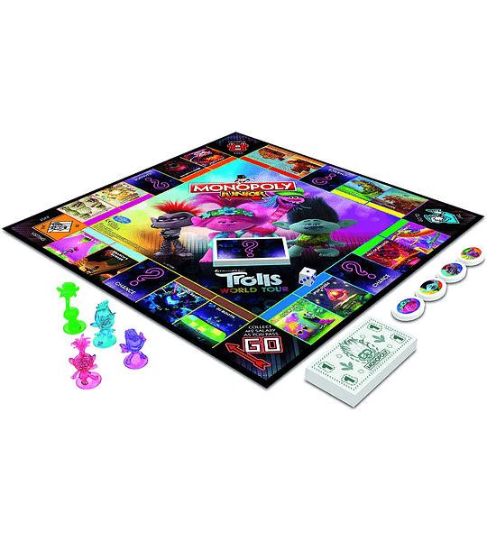 Monopoly Junior, DreamWorks Trolls 2