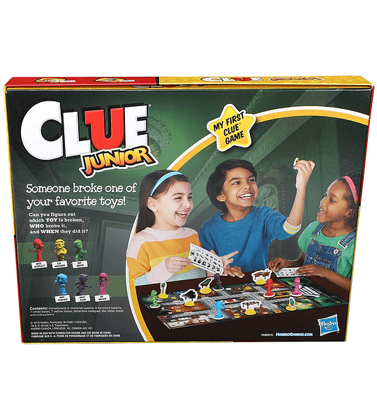 Clue Junior Caso del juguete Roto