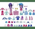 Twilight Sparkle and DJ Pon-3 Muñecas Equestria Girls Fashion con más de 40 accesorios My Little Pony