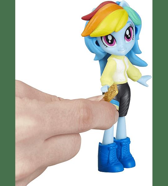 Rainbow Dash y Starlight Glimmer Muñecas Equestria Girls Fashion con más de 40 accesorios My Little Pony