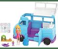 Caravana de aventuras de Polly Pocket, accesorios para muñecas