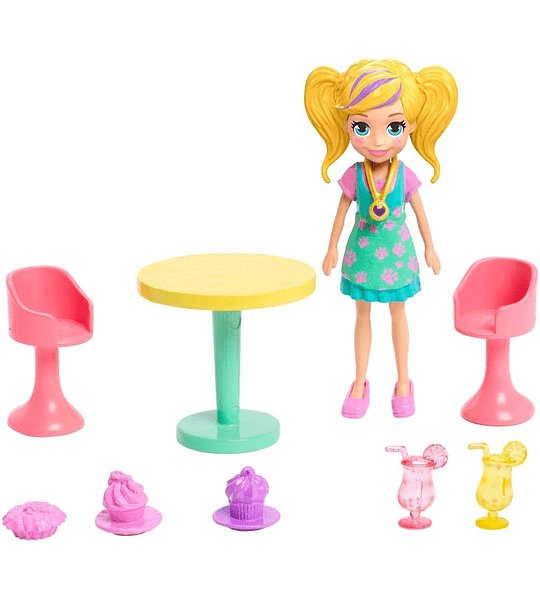 Camión de Licuados Polly Pocket