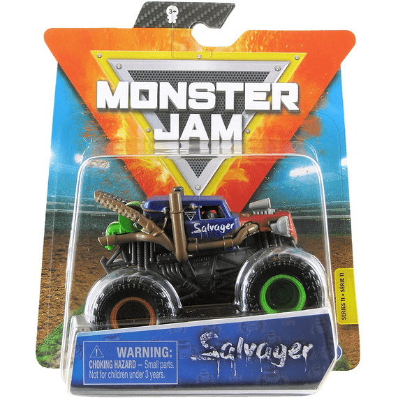 Salvager Monster Jam 2020 Spin Master 1:64