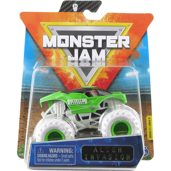 Alien Invasion  Monster Jam 2020 Spin Master 1:64