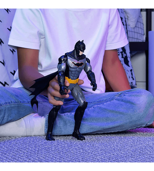 Batman táctical mas batimobile DC Comics 30 cm